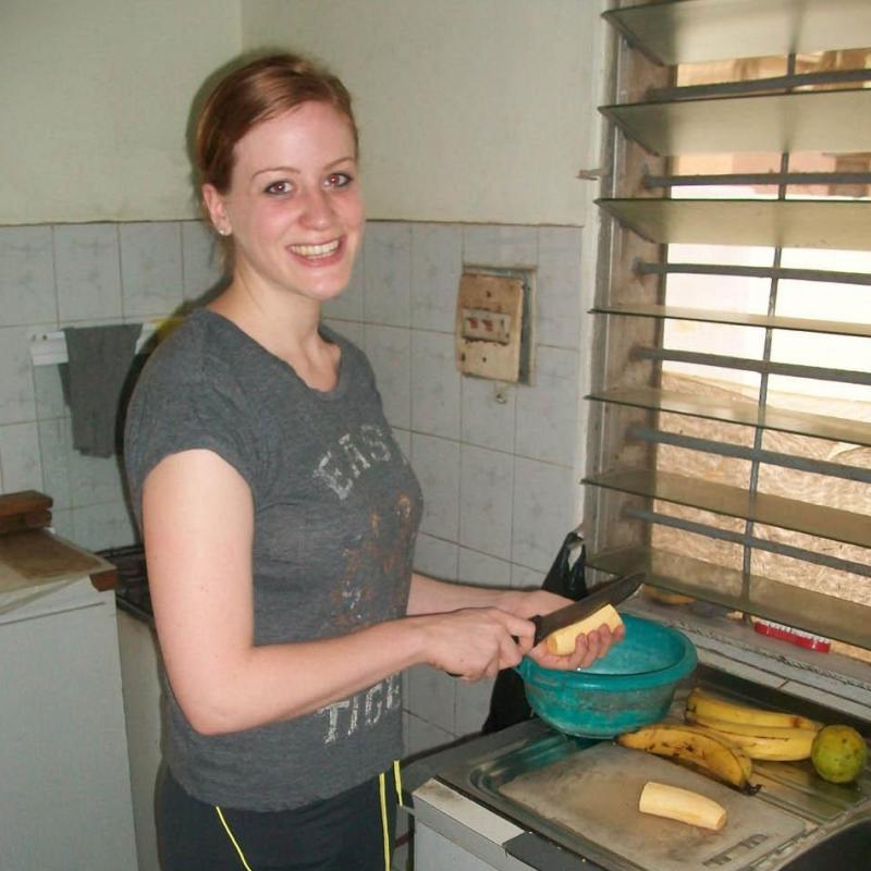 Elizabeth P in Ghana